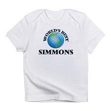 World's Best Simmons Infant T-Shirt