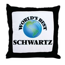 World's Best Schwartz Throw Pillow
