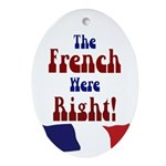 The French Were Right! (Tree Ornament)