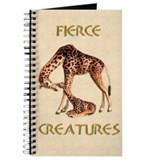 Fierce Creatures Journal-giraffes