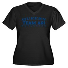 Team Ari - Queens Blvd Women's Plus Size V-Neck Da