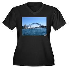 Sydney Harbour Bridge Plus Size T-Shirt