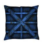 Rusty Shipping Container - blue Master Pillow