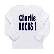 Funny Rock baby Long Sleeve Infant T-Shirt