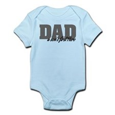 A Son's First Hero Infant Bodysuit