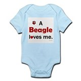 A Beagle Loves Me Infant Bodysuit
