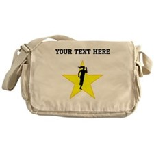 Runner Silhouette Star (Custom) Messenger Bag