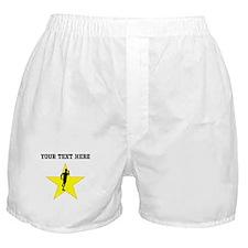 Runner Silhouette Star (Custom) Boxer Shorts