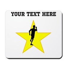 Runner Silhouette Star (Custom) Mousepad