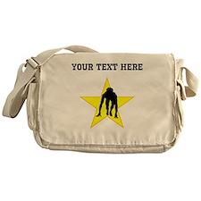 Runner Crouched Star (Custom) Messenger Bag