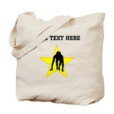 Runner Crouched Star (Custom) Tote Bag
