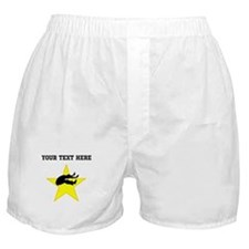 Long Jumper Silhouette Star (Custom) Boxer Shorts