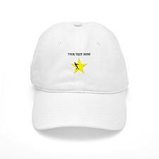 Hammer Throw Silhouette Star (Custom) Baseball Baseball Cap