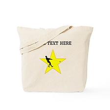 Hammer Throw Silhouette Star (Custom) Tote Bag