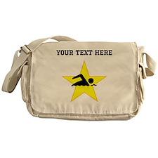 Swimmer Star (Custom) Messenger Bag