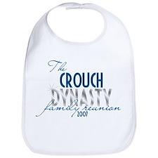 CROUCH dynasty Bib