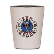Zed-Heads Color 400px Shot Glass