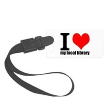 Library Love Luggage Tag