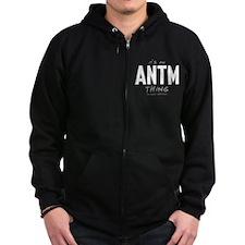 It's an ANTM Thing Dark Zip Hoodie