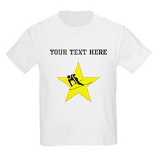 Skier Star (Custom) T-Shirt