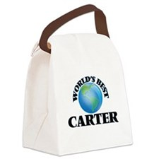 World's Best Carter Canvas Lunch Bag