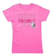 Cute Support the troops Girl's Tee