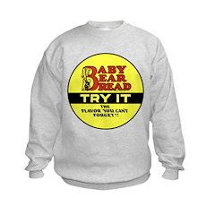 Baby Bear Bread #2 Kids Sweatshirt
