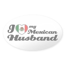Mexican Husband Oval Decal