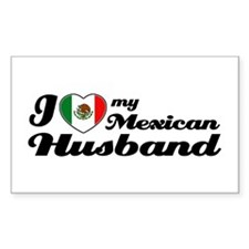 Mexican Husband Rectangle Decal