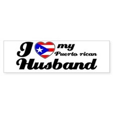 Puerto rican Husband Bumper Bumper Sticker