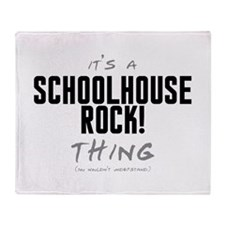 It's a Schoolhouse Rock! Thing Stadium Blanket