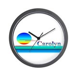 Carolyn Wall Clock