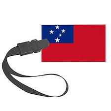 Samoa Flag Luggage Tag