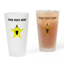 Gymnastics Star (Custom) Drinking Glass