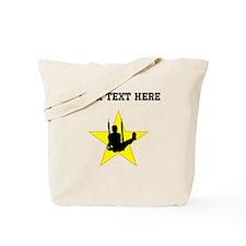 Gymnast Silhouette Star (Custom) Tote Bag