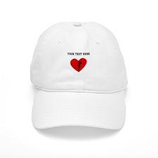 Runner Heart (Custom) Baseball Baseball Cap