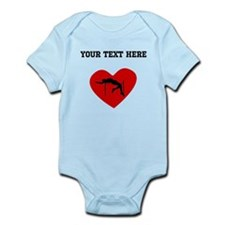 High Jump Heart (Custom) Body Suit