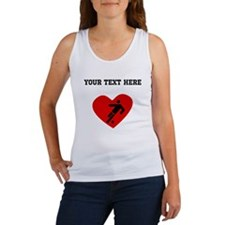 Soccer Player Heart (Custom) Tank Top