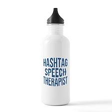 Hashtag Speech Therapi Water Bottle