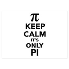 Keep calm it's only Pi Invitations