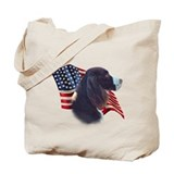 English Springer Flag Tote Bag