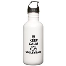 Keep calm and play Vol Water Bottle