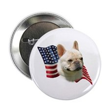 Frenchie Flag Button