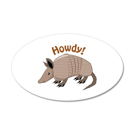 Howdy Wall Decal