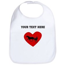Harness Racing Heart (Custom) Bib