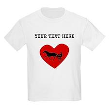 Harness Racing Heart (Custom) T-Shirt