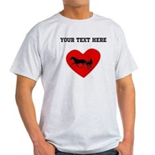 Harness Racing Heart (Custom) T-Shirt