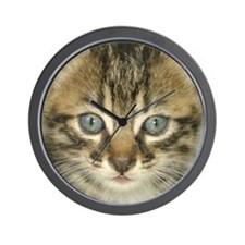 Kitty Wall Clock