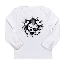 Cute Biker kids Long Sleeve Infant T-Shirt