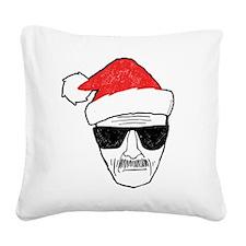 Heisenberg Santa Square Canvas Pillow